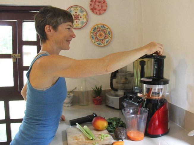 6 días cocina vegetariana y retiro de yoga en el Amazonas, Perú