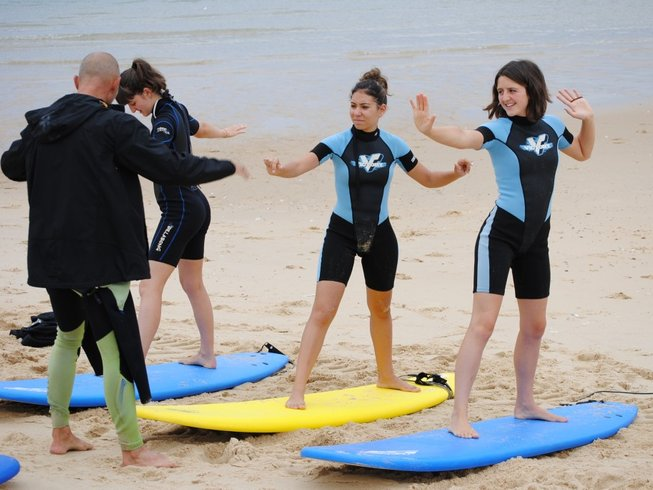7 Days Yoga and Surf Camp France