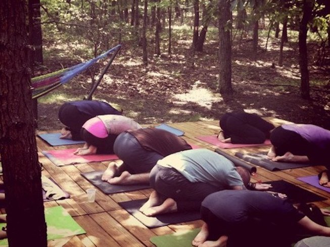 3 Days Writing in the Woods and Yoga Retreat West Virginia