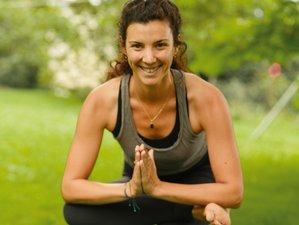 7 jours en retraite de yoga intégral au cœur de l'été avec Lea à Hélette, Pays basque