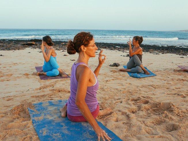 8 días retiro de yoga de año nuevo en Fuerteventura, España