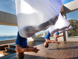 7 jours en retraite de luxe de yoga et culture à Marathon, Grèce