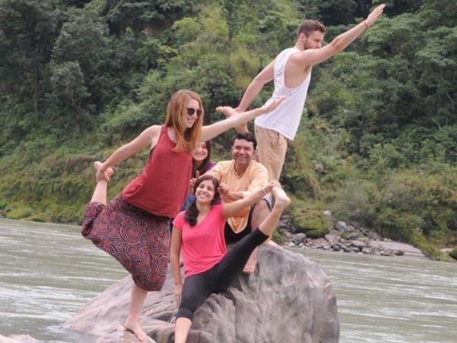 28 jours-200h de formation de professeur de yoga à Rishikesh
