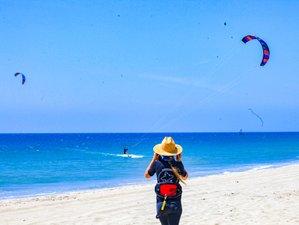 5 Tage Kiteboarding und Yoga Urlaub für Frauen in El Ñuro, Nordperu