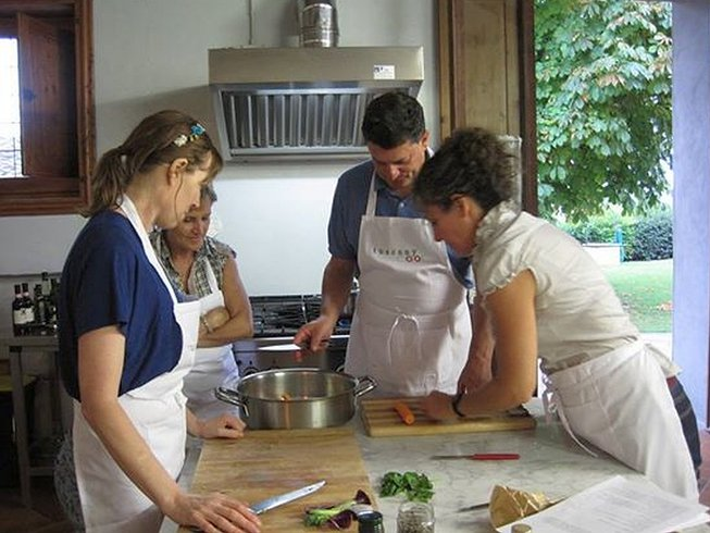 7 Days Tuscany Cooking Tours at Palavigne Stone House