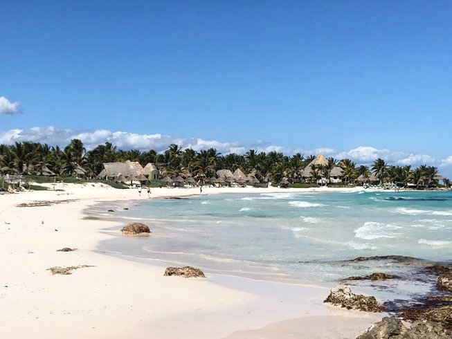 "7 Days ""Caribbean Bliss"" Beach Meditation and Yoga Retreat in Tulum, Mexico"