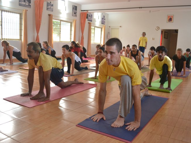 28 Days 250hr Ashtanga Yoga Teacher Training in India