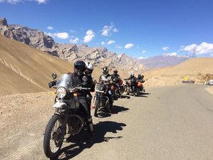 13 Day Leh Ladakh Expedition Guided Motorcycle Tour
