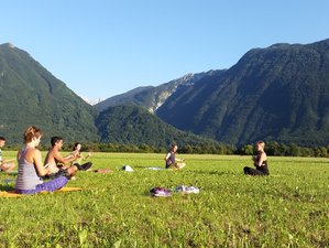 7 Days All-Inclusive Alpine Adventure and Yoga Retreat in Bovec, Slovenia