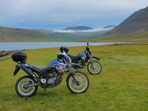8 Day Motofiesta Western Fjords Guided Motorcycle Tour in Iceland with Camping Experience
