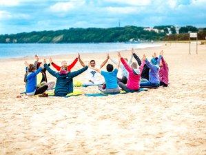 5 Tage Yoga Urlaub, Vital und Relaxed Direkt am Meer im Ostseebad Baabe auf Rügen