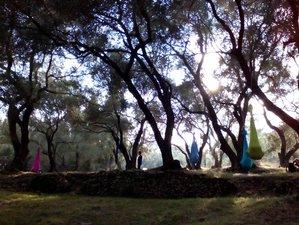 6 Tage Aerial Yoga Basics Ausbildung und Aerial Yoga für Kinder und Familien auf Korfu, Griechenland