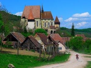 4 Days Medieval Adventure Guided Enduro Motorcycle Tour in Transylvania, Romania