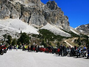 8 Day Self-Guided Motorcycle Tour around the Dolomites and Veneto, Italy
