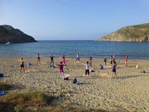 Pilates, yoga et randonée à Mykonos, Grèce