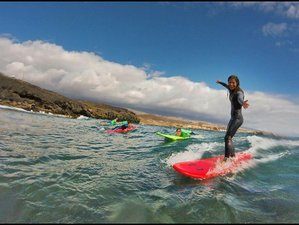 8 Days Surf & Yoga Holiday in Poris de Abona, Arico, Spain