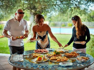 7 Days All-inclusive Italy Luxury Culinary Vacation in Beautiful Roman Countryside