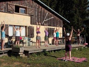 7 jours en stage de yoga et randonnée dans le massif des Bauges, France