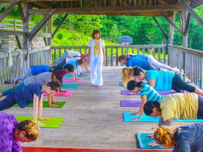 3 jours en retraite de yoga et méditation pour se ressourcer à New York, États-Unis