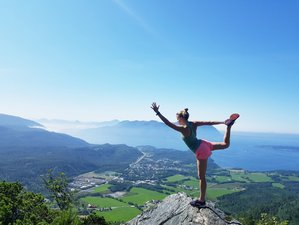7 Days Yoga Holiday and Hiking Adventure in the Scenic Splendor of Haines, Alaska