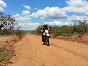 15 Days Guided Panoramic Motorcycle Tour in Kenya from Nairobi to Msambweni via Masai Mara