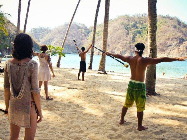 28 Days Fire Dance and Yoga Retreat in Costa Rica