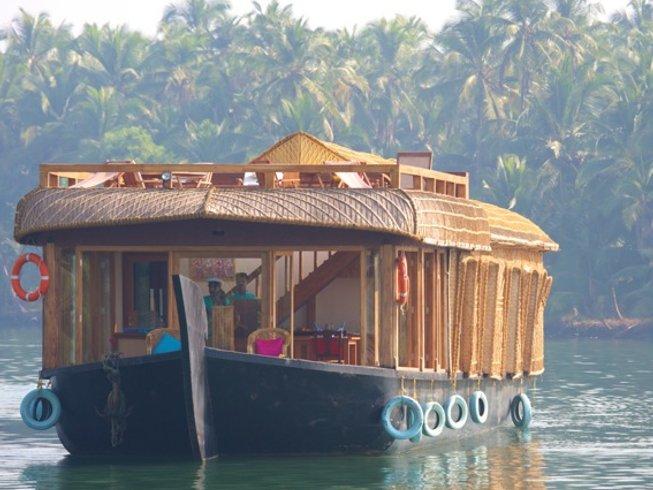 8 jours en stage de yoga pour se ressourcer dans le Kerala, Inde