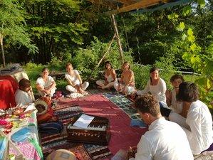 4 jours en stage de yoga du son, mantras et kirtans au cœur des Alpes