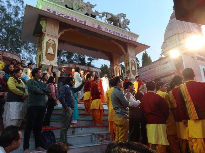 6 días retiro de yoga, chakras y meditación en Rishikesh, India