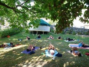 6 jours en retraite de yoga d'été dans un gîte écologique en Aveyron, France