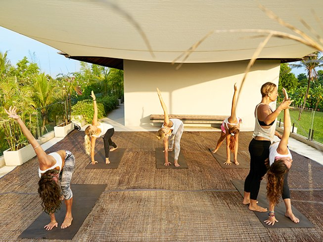 7 Days Designed for Women Yoga, Surf, and Spa Retreat in Bali