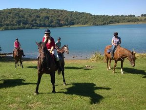 5 Days Long Weekend Horse Riding Holidays in Latium at the borders of Tuscany and Umbria, Italy