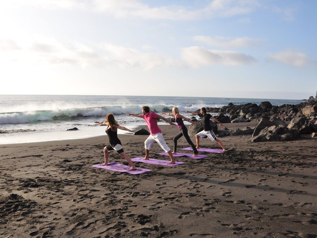 8 Days Relax and Resource Yoga Retreat in Canary Islands, Spain