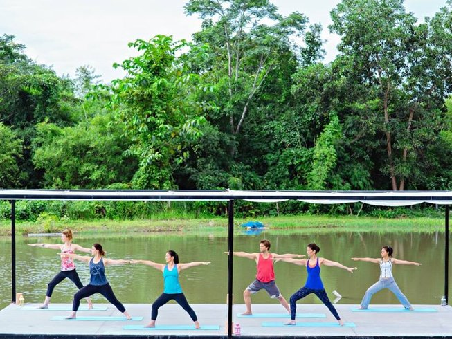 8 Days Chrysalis New Year Yoga Retreat in Thailand
