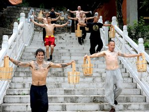 2 Weeks Authentic Shaolin Monk Martial Arts Training in Kunming, China