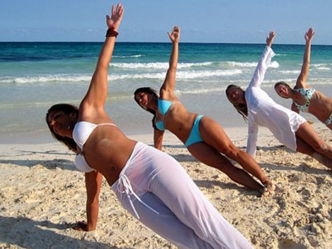 Bikini boot camp in riviera maya