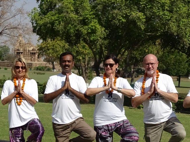 7 Tage Intensive Meditation und Yoga Urlaub in Goa, Indien