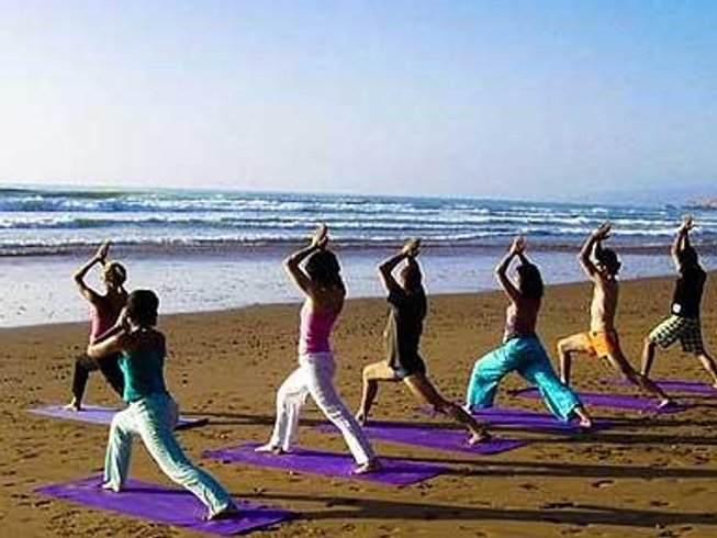 7 Days Yoga and Surf Retreat in Agadir, Morocco