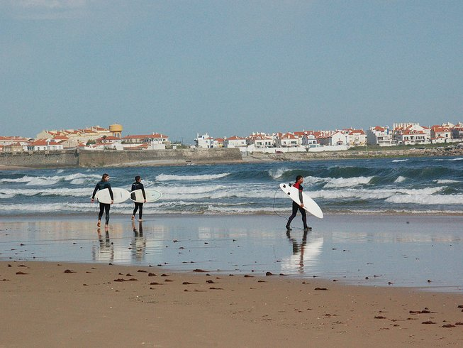 6 Days All-Level Surf and Yoga Retreat in Lisbon, Portugal