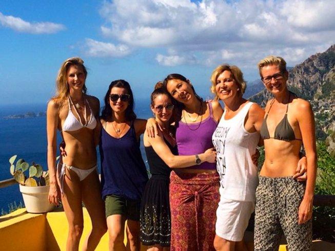 8 Days Deluxe Yoga Retreat in Positano, Italy