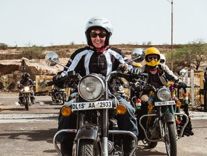 19 Day The Wild West Rajasthan Guided Motorcycle Tours in India