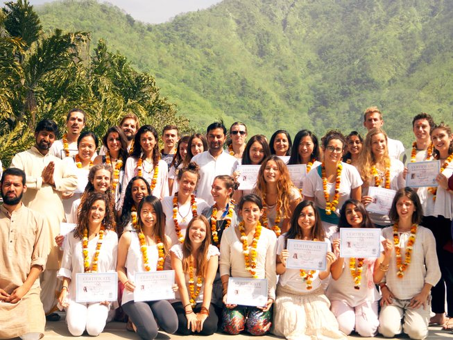 28 Days 200-Hours Yoga Teacher Training in Rishikesh, India