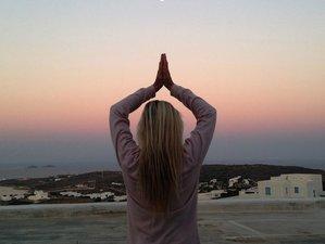 8 jours en stage de yoga, méditation et détox par le jeûne dans les Cyclades, Grèce