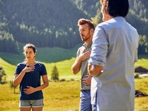 5 Tage Soulful Clay Meditation und Yoga Retreat auf dem Sonnenplateau von Vals, Südtirol