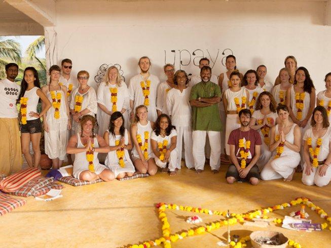 26 jours-200h de formation de professeur de yoga à Goa, Inde