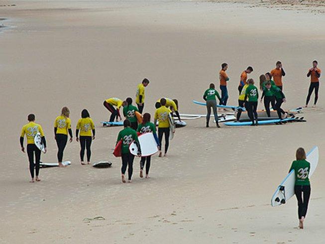 8 Days Intensive Surf Camp Santa Cruz, Portugal