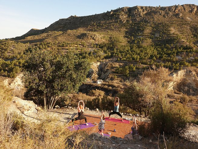 7 Days Inspiring Yoga Retreat in Spain