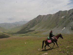 10 Day Trail Riding and Camping in the Suusamyr Mountains, Kyrgyzstan
