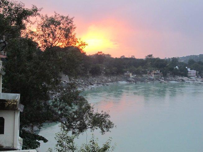 22 días retiro de yoga en el Himalaya, India