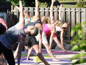 5 Tage Entspannender Yoga Retreat in Südfrankreich
